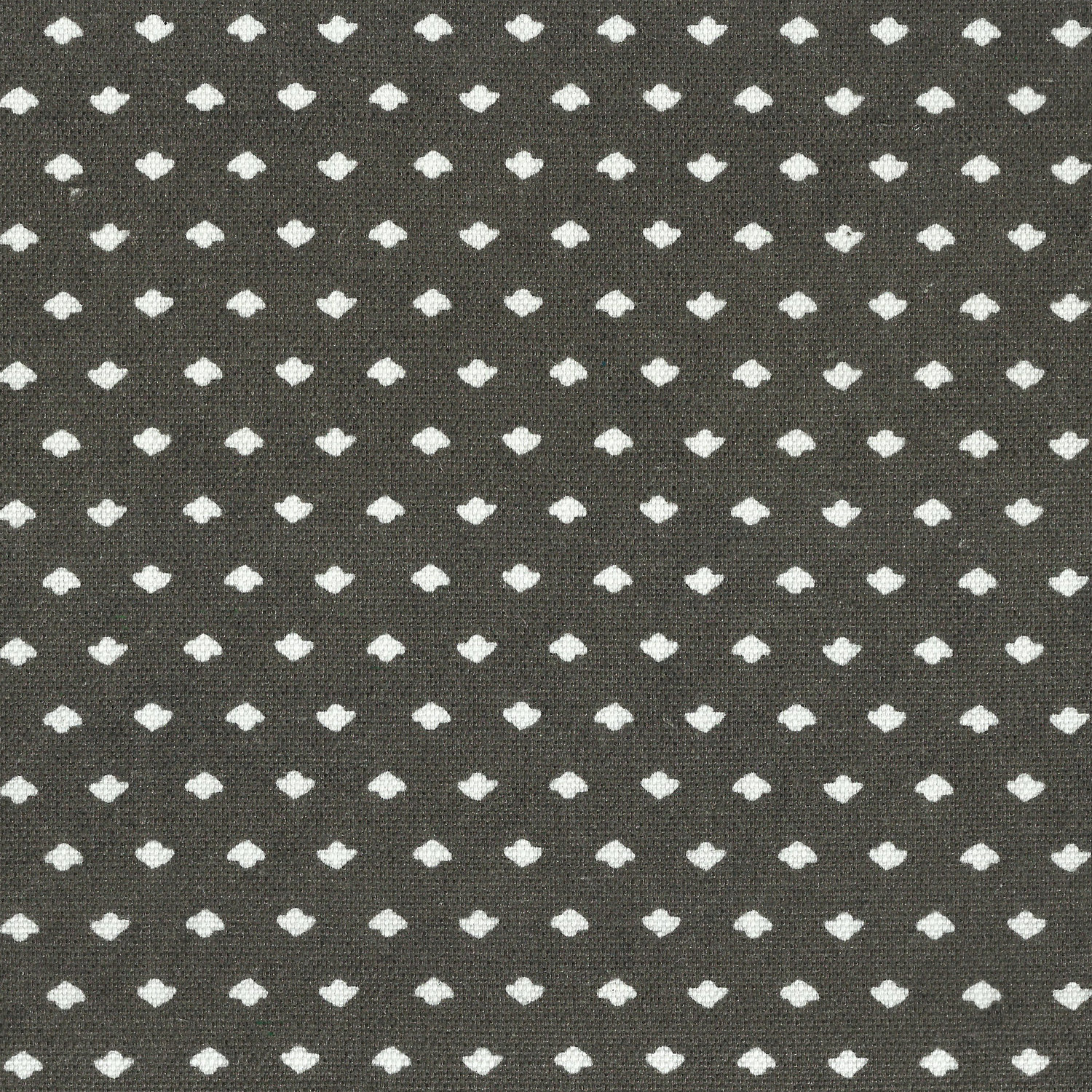 Calico Dot in Charcoal