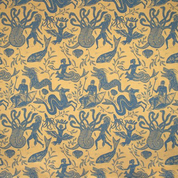 Hydra Mustard Blue