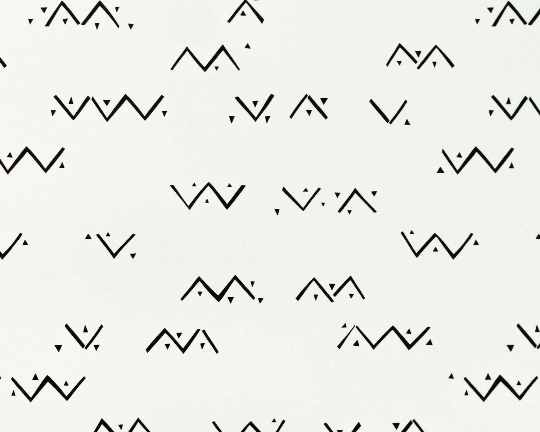 Loxo Onyx Vellum Wallpaper detail