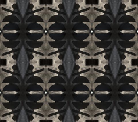 10418 Washed Black Grasscloth