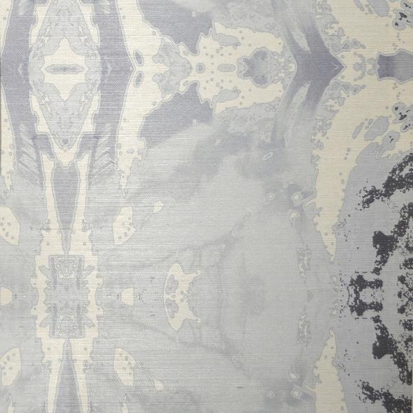 125-5 Grey Ivory A Grasscloth