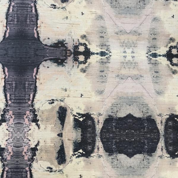 53115 Indigo B Grasscloth