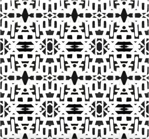 82113 Black White Inverse Alta Wallpaper