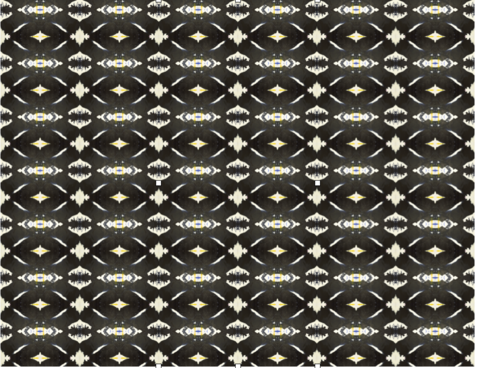 125-4 Black Yellow B Alta Wallpaper