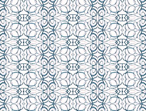 1515 Blush Navy Alta Wallpaper