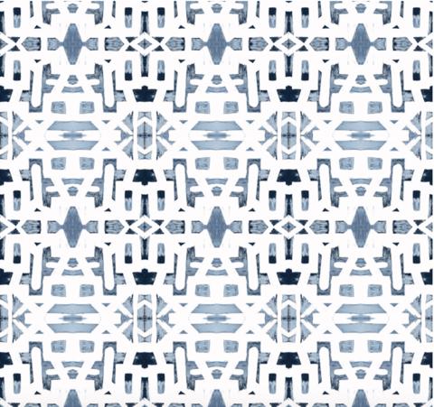 82113 Indigo Ocean Alta Wallpaper