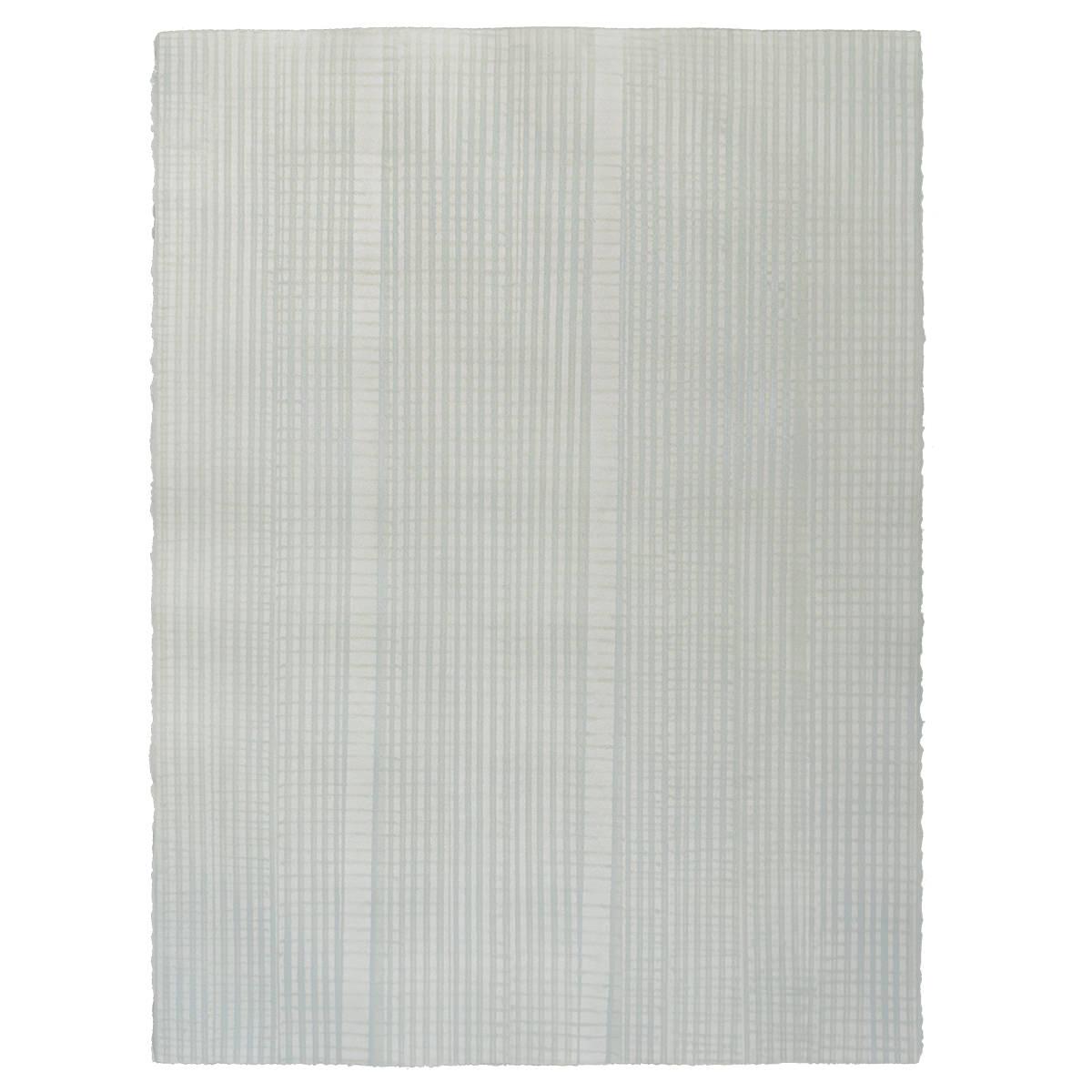 Traveller - Sage - Hand-painted sheet wallpaper