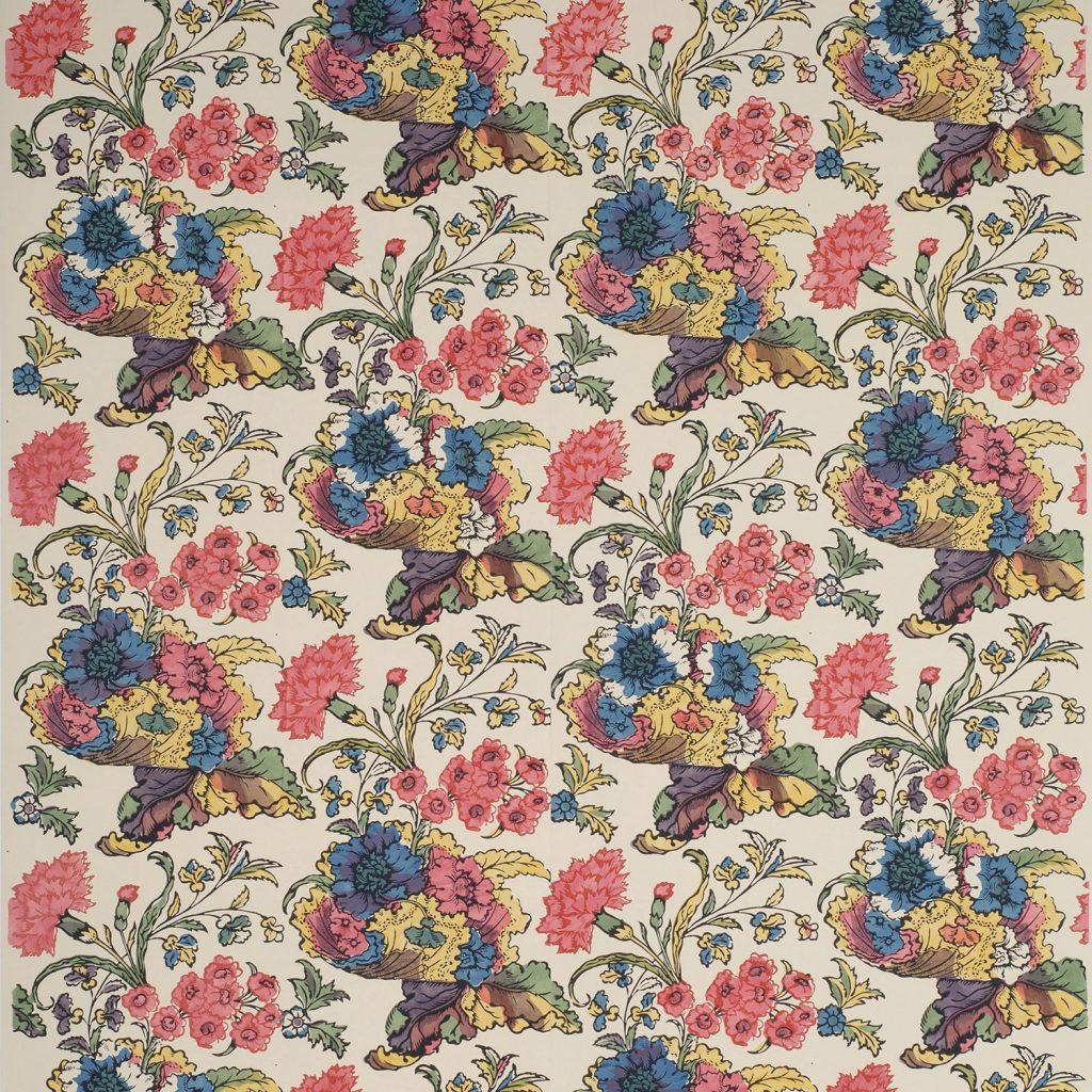 Carnations and Shells A - English, circa 1720-1750