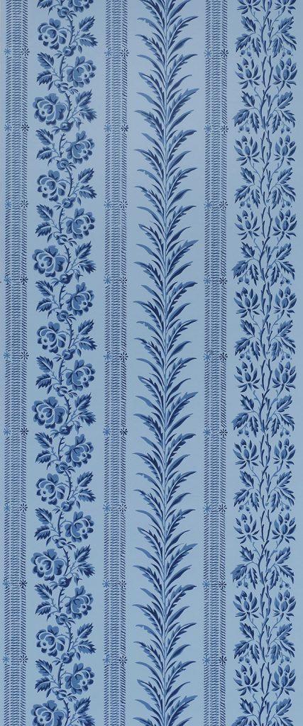 Plymouth Stripe & Vine C - American, circa 1795-1815