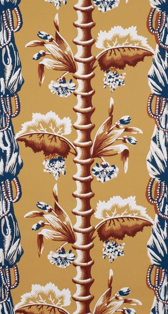 Bamboo and Drapery B - American (Boston), circa 1811-1817