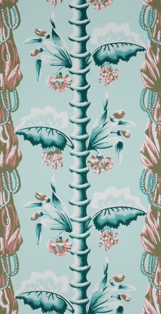 Bamboo and Drapery C - American (Boston), circa 1811-1817