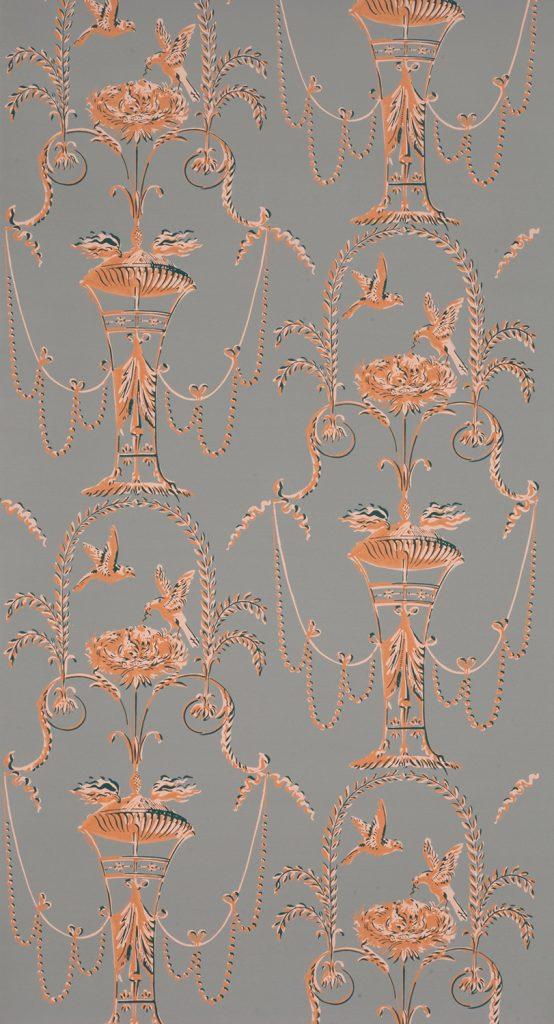 Arabesque Pigeons C - Boston, circa 1790