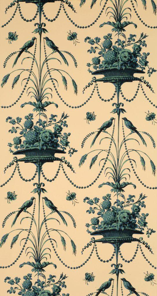 Parakeets and Pearls B - French (Paris,) circa 1780