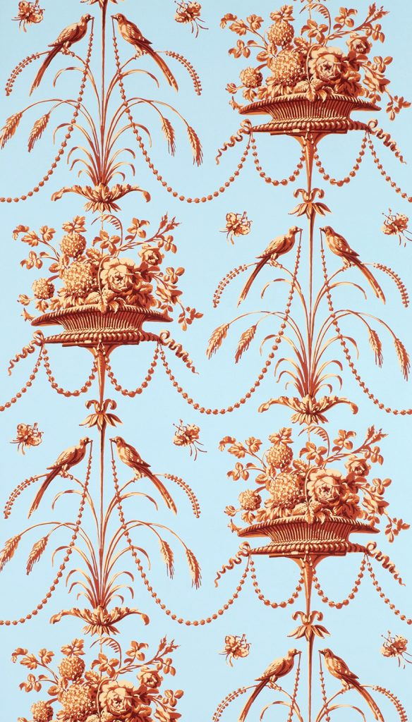 Parakeets and Pearls D - French (Paris,) circa 1780
