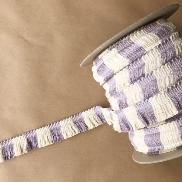 "1.5"" Big Top Cut Fringe Lilac"
