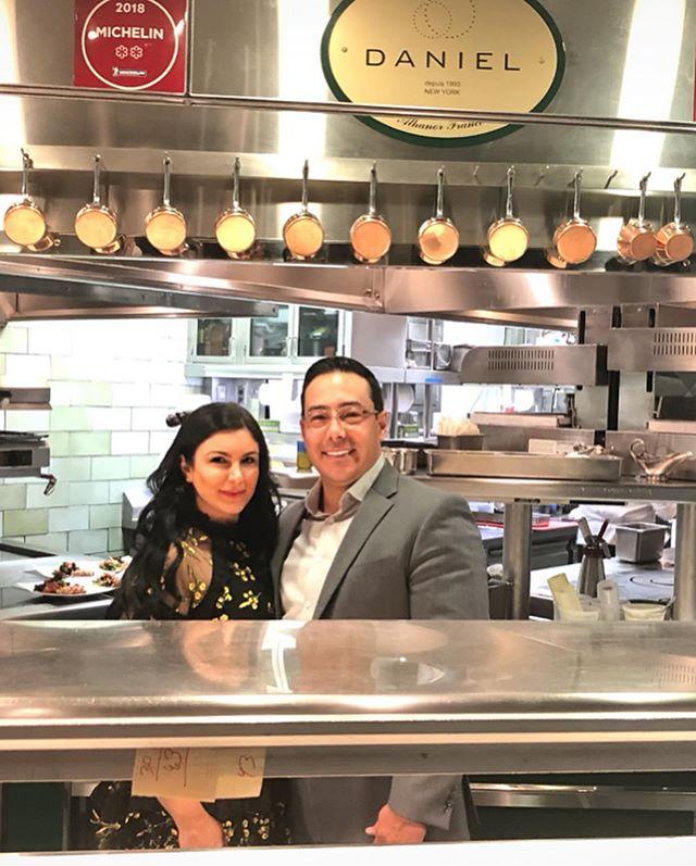 kitchen tour & memorable anniversary dinner at 🥂@restaurantdaniel  #datenight #anniversary