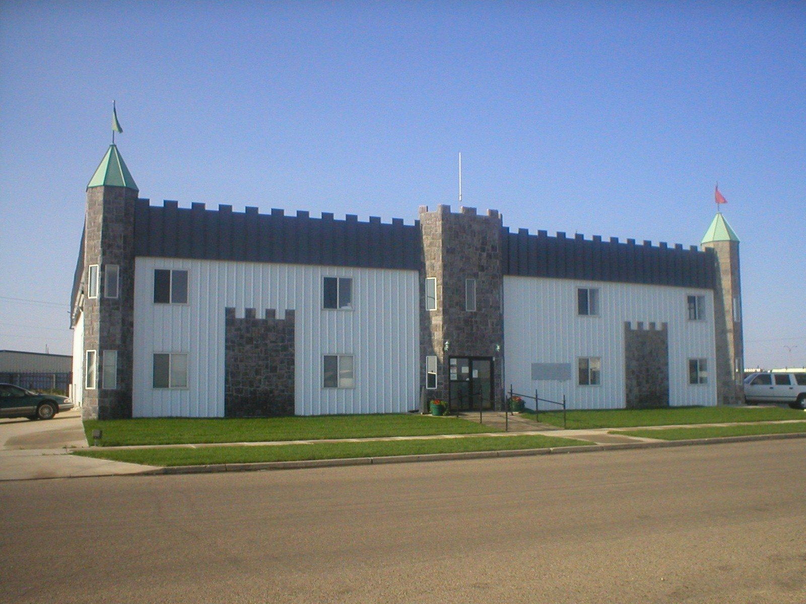 The Bismarck Transition Center. Photo courtesy of the North Dakota Department of Corrections and Rehabilitation.