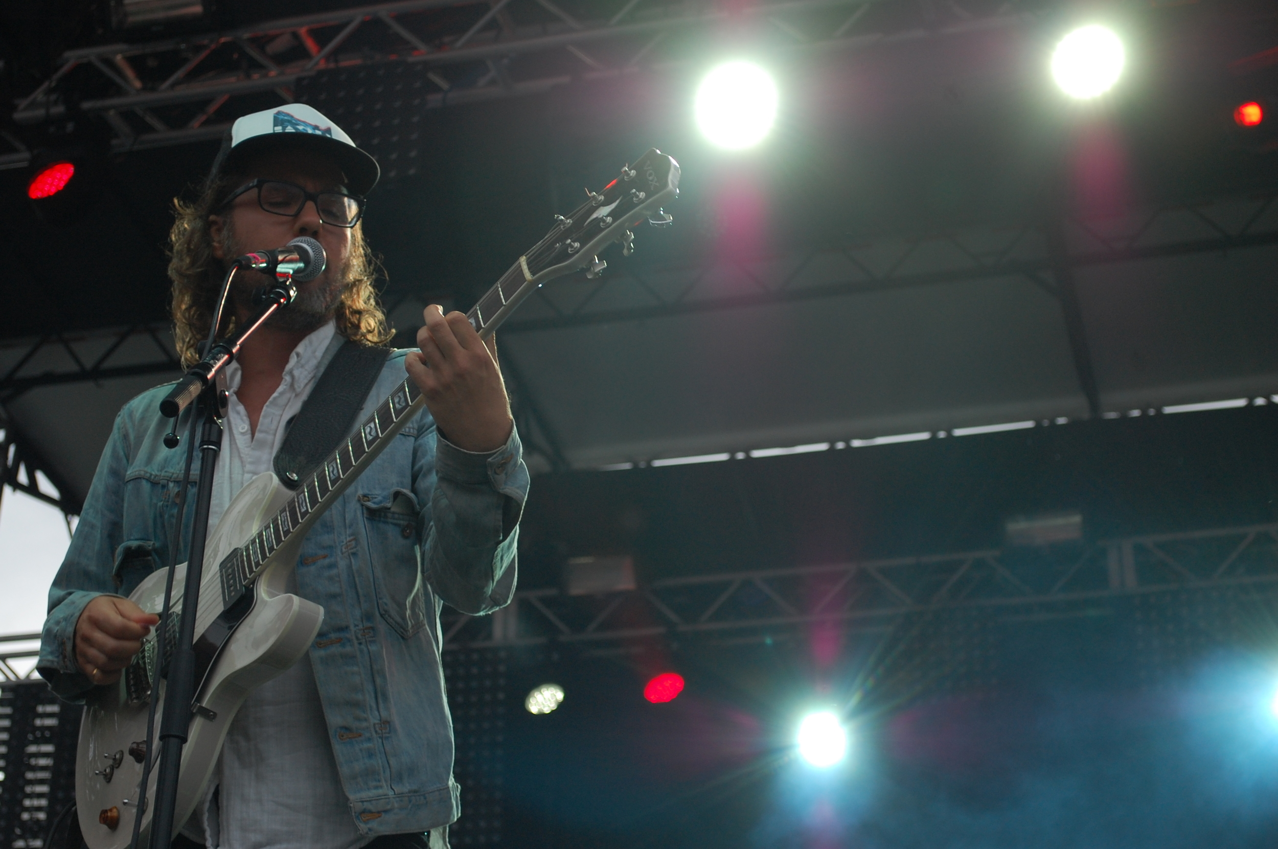 Broken Social Scene at the Red Stage on Friday.