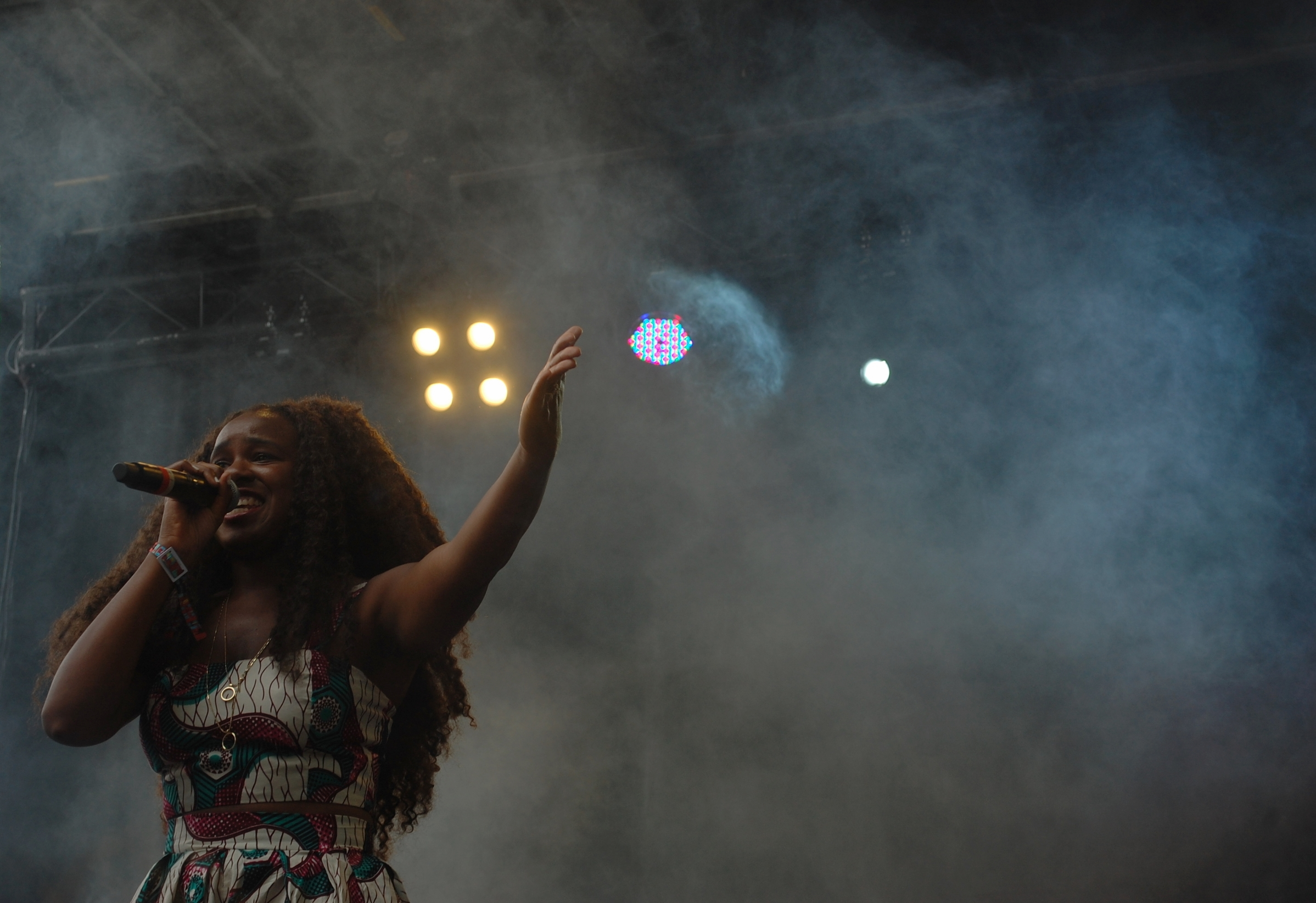 NAO on the Blue Stage on Sunday.