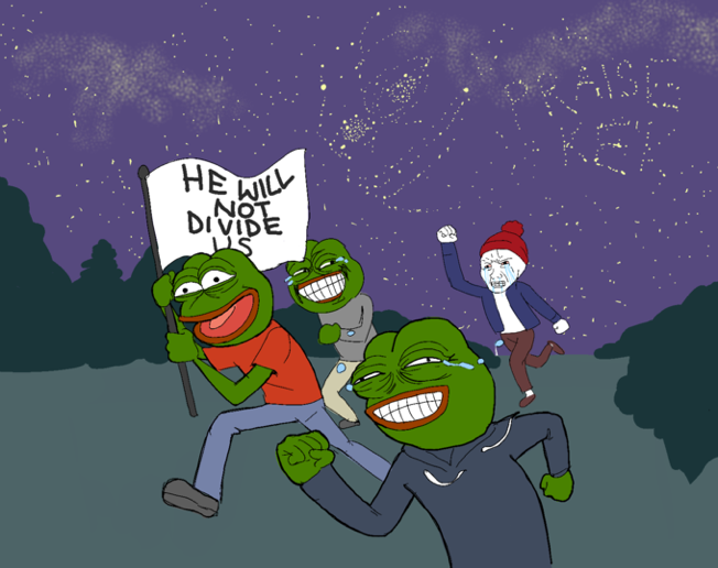 A Meme Posted on  4chan.org/pol/