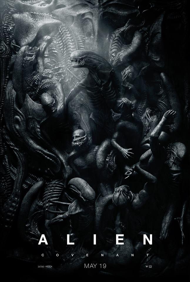 Official poster for Alien: Covenant