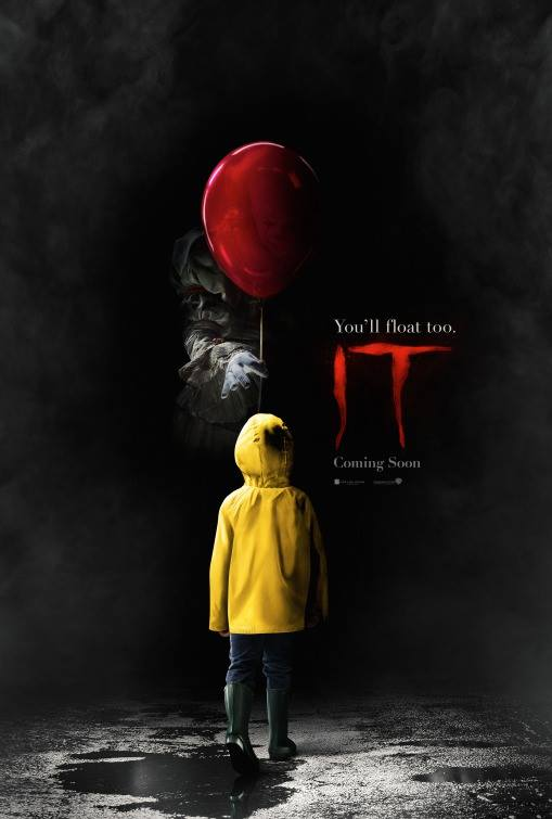 Official movie poster for IT