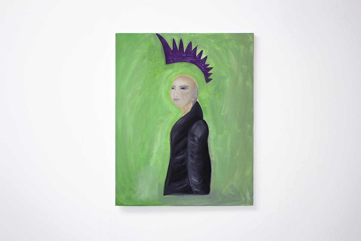 Full Blown Freak, 2016 Oil on canvas24 x 30 inches