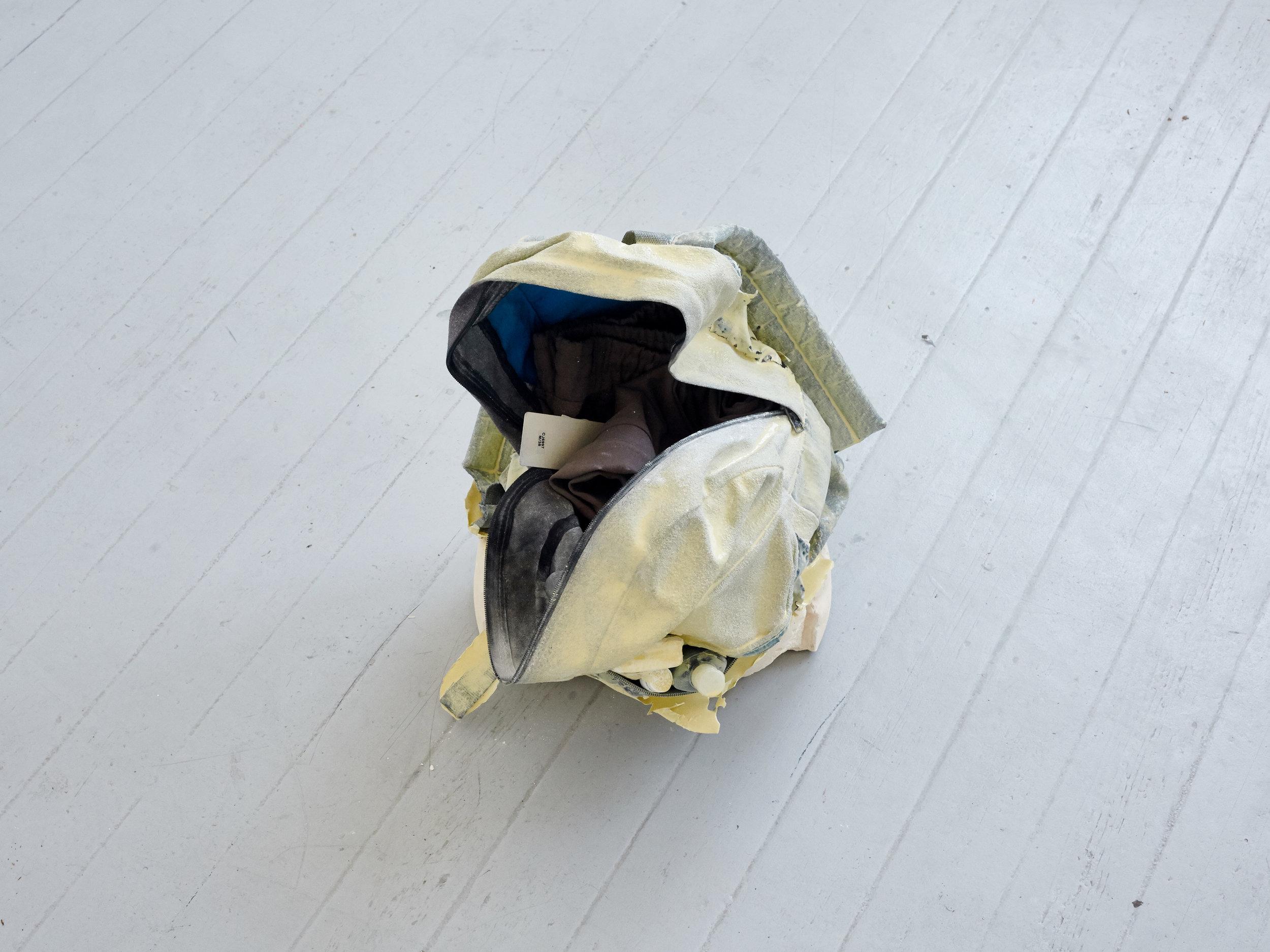 Elif Erkan  Romantic Escapism II – The Sleepover  (2014) Plaster, resin, pigments, polyester, 50 x 30 cm Courtesy: Artist / Artun Alaska Arasli, Amsterdam, Netherlands