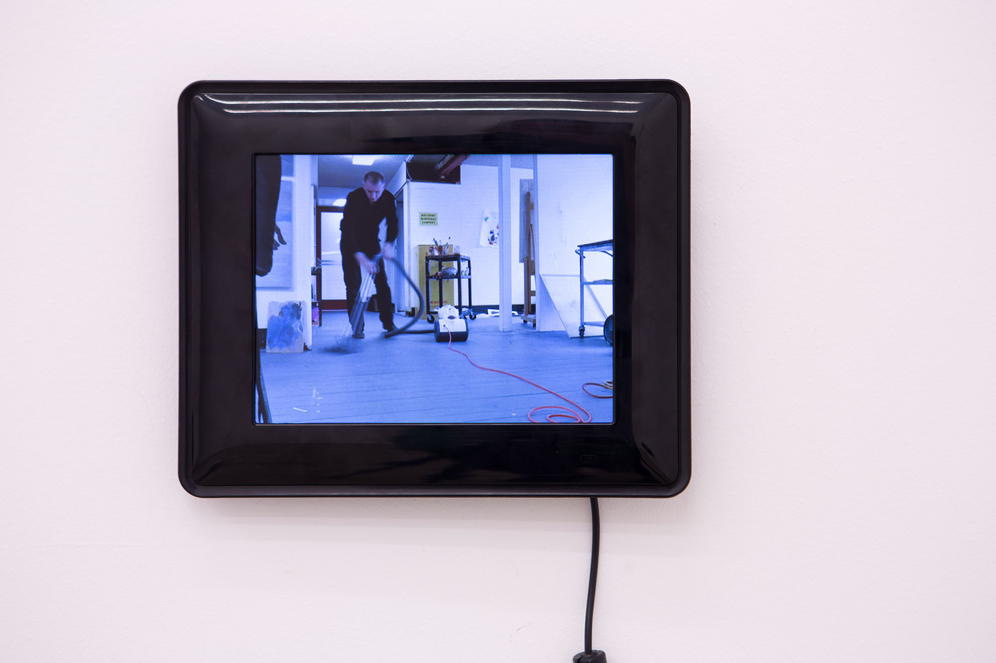 "Stephen Little, ""Dust Breeding"" (still), 2017, wall mounted video monitor, digital video, 17 minutes, 3 seconds, edition 1/5, Courtesy of Kronenberg Wright Artist Projects, Sydney"