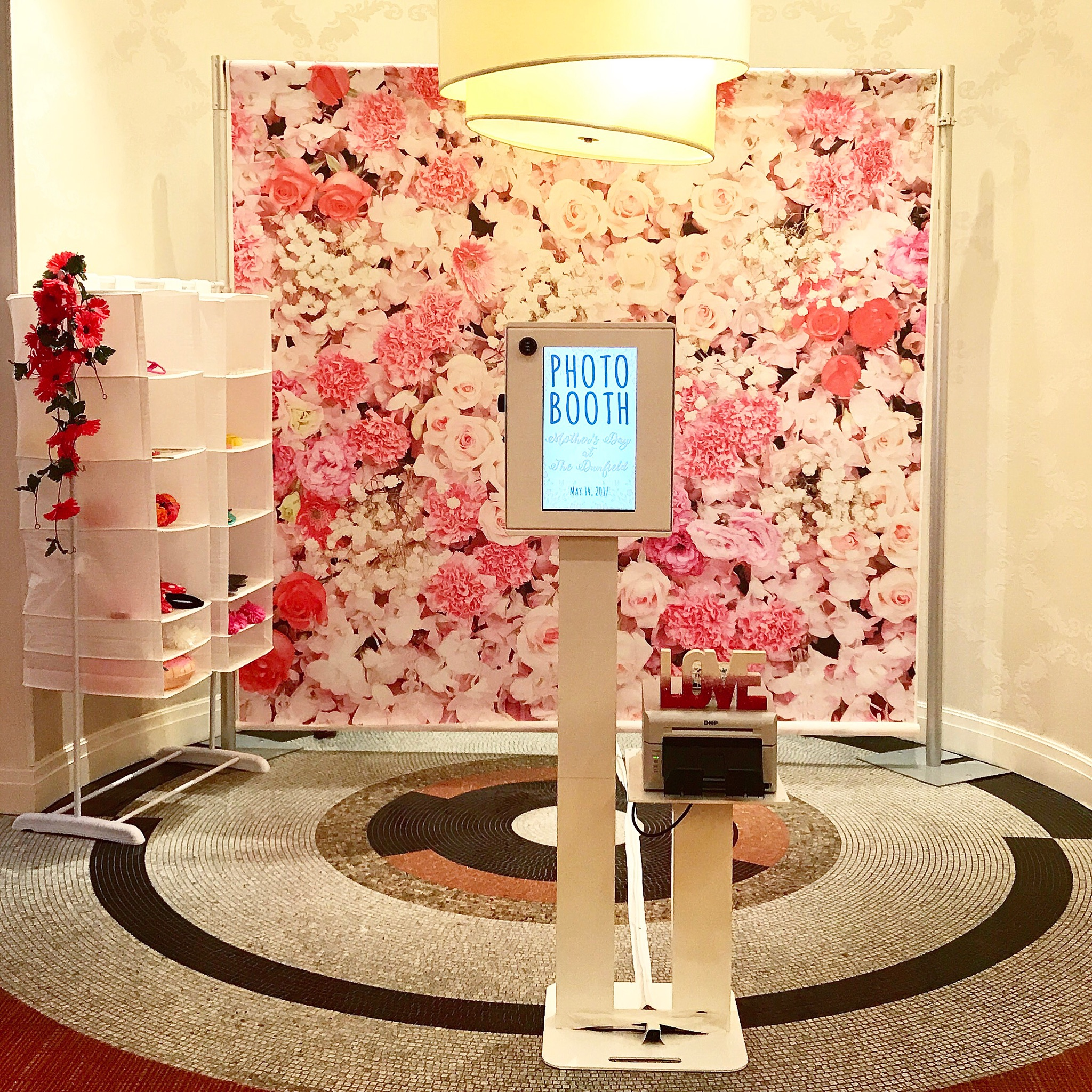 Floral Photo Booth Toronto