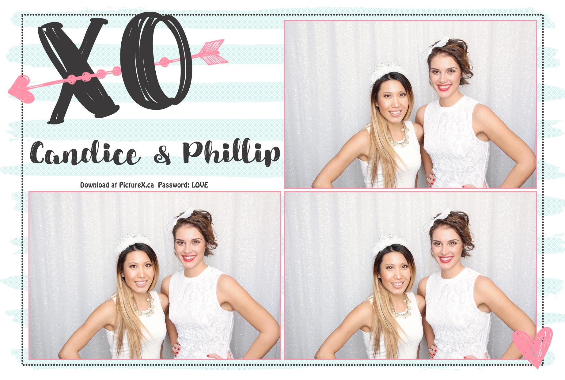 love wedding photobooth template