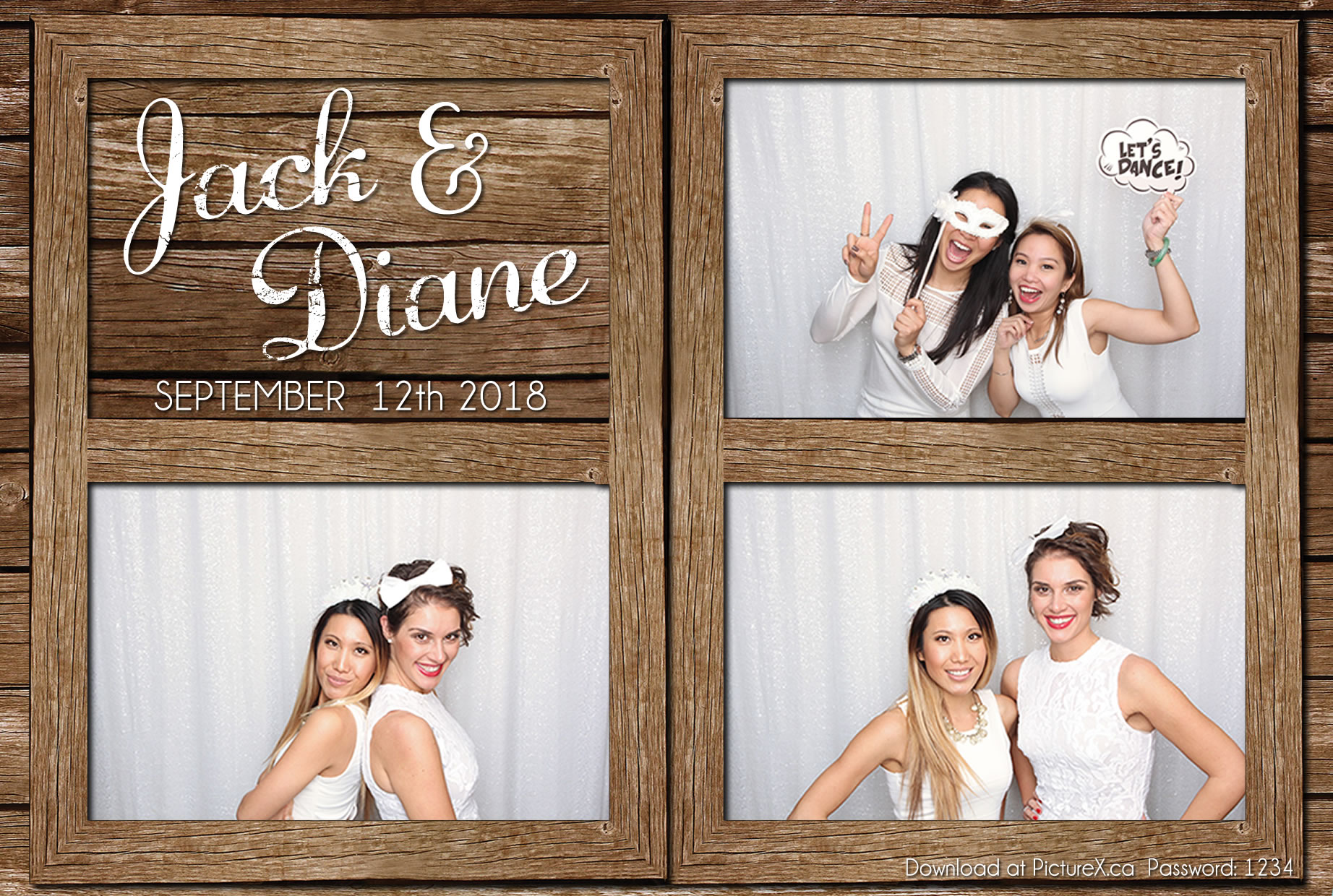 Toronto Rustic Photo Booth