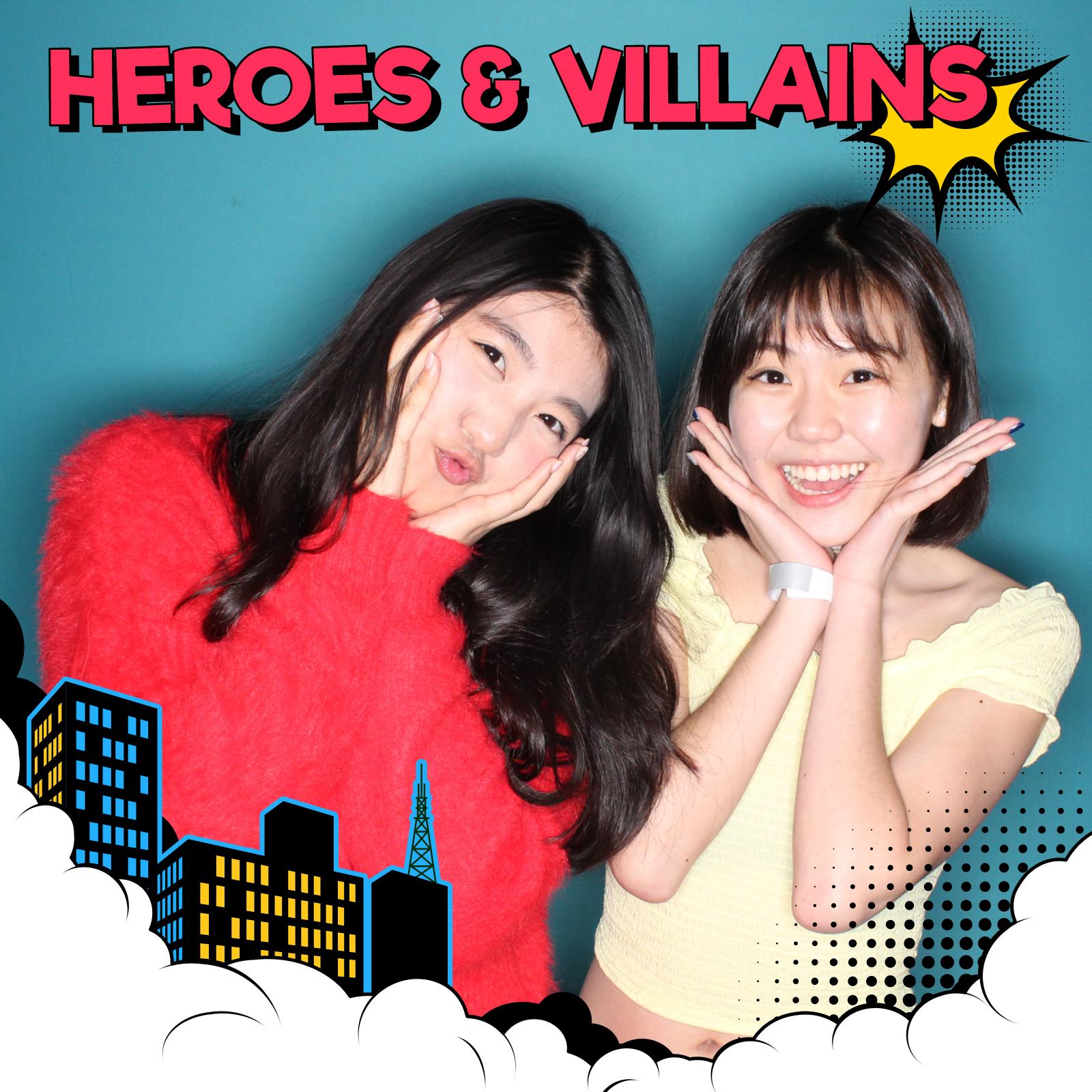 Torotno Super Hero Boomerang Booth