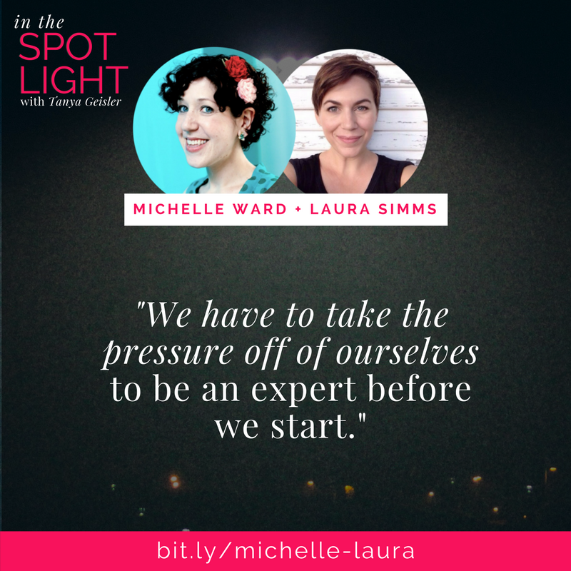 in the spotlight with michelle ward and laura simms