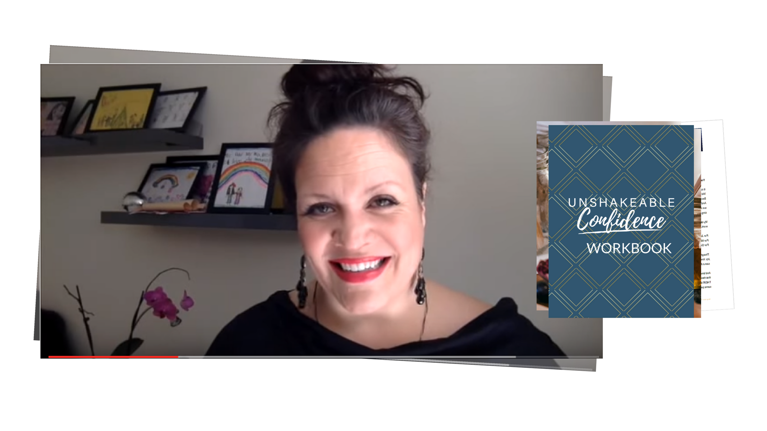 Unshakeable Confidence Beta Cohort Video Calls and Workbook