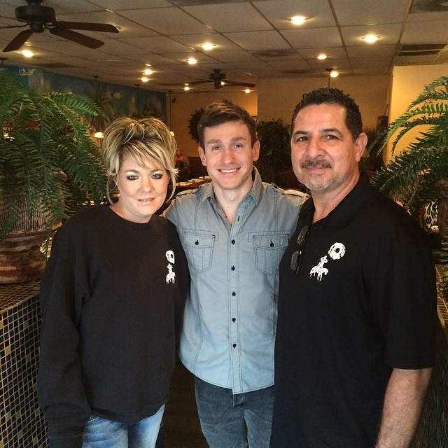 Don Ruben's was interviewed today for a #sb49 news feature!  Thank you to @keithkocinski and @channelonenews team for the visit!  #eatlocal #mexicanfood #feature #DRMEX