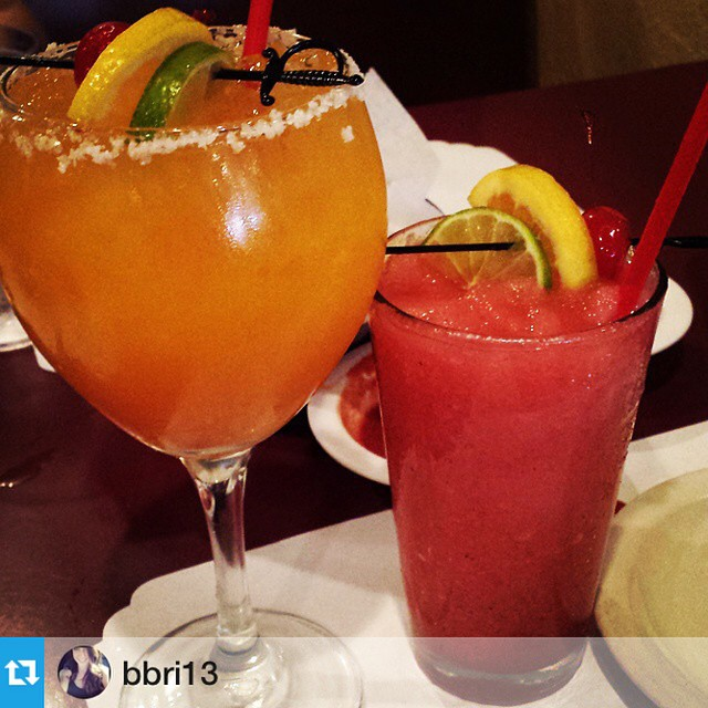 #Repost from @bbri13 awesome! These fruit margaritas look delicious, nice shot. 📷 ---My fav little secret place #donrubens#drmex#placeisamazing