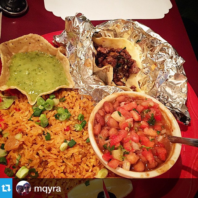 #Repost from @mqyra-Enjoying my day off at #drmex!- Those Blake tacos look delicious, enjoy!