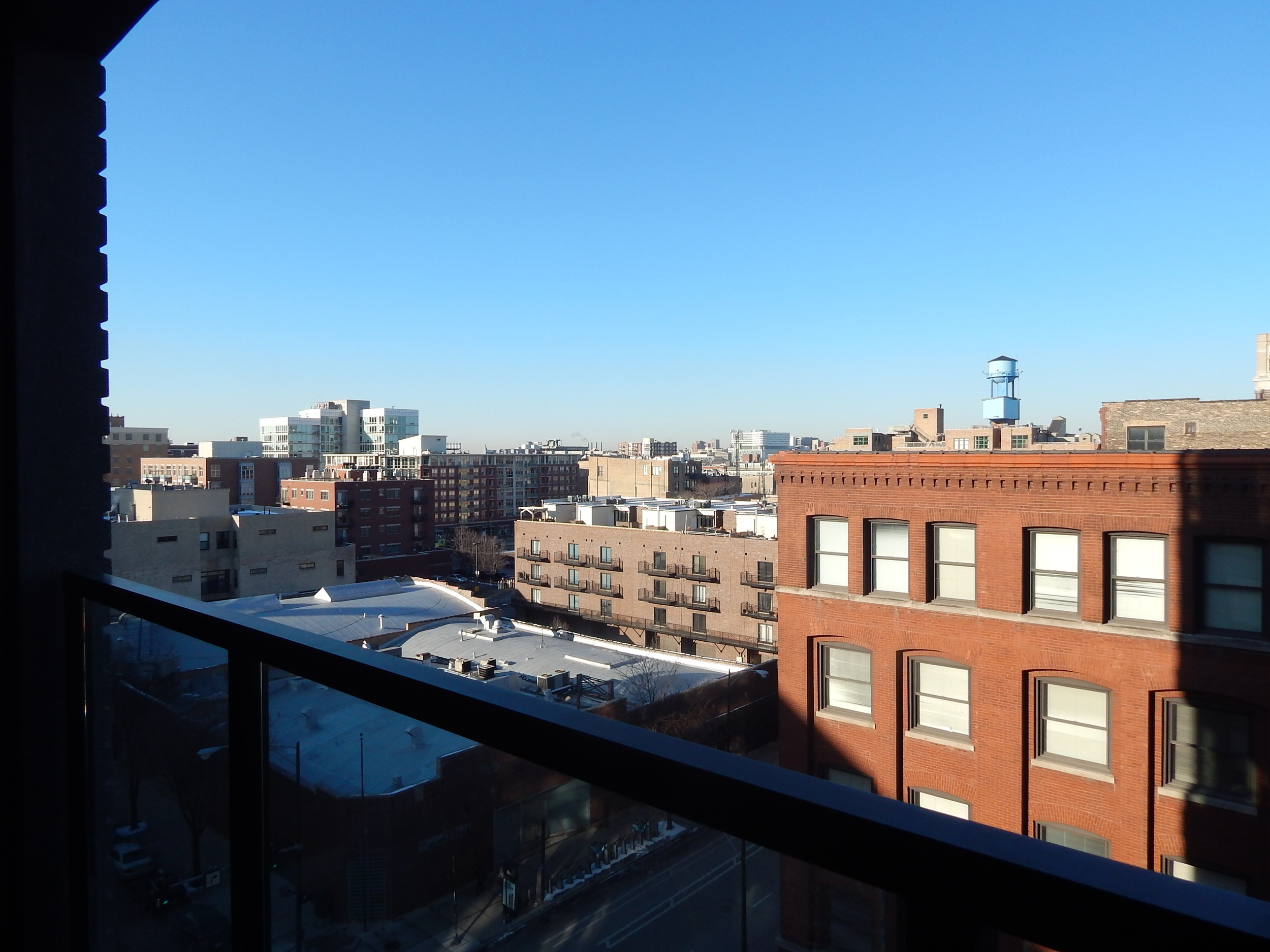 View from the apartment balcony