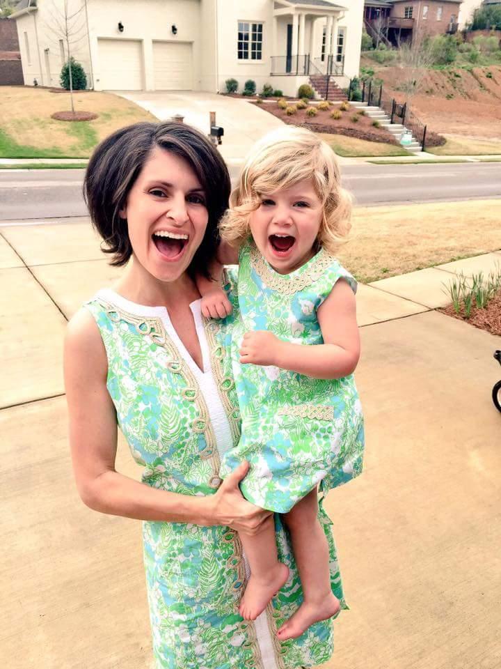 Ashley and her precious daughter Reagan