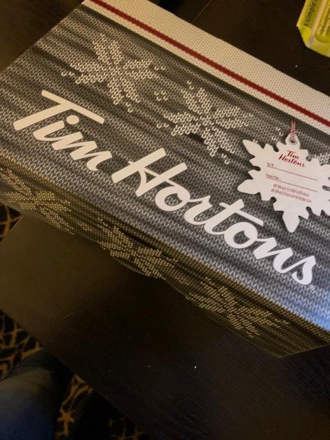 Good ole' Timmy Hortons