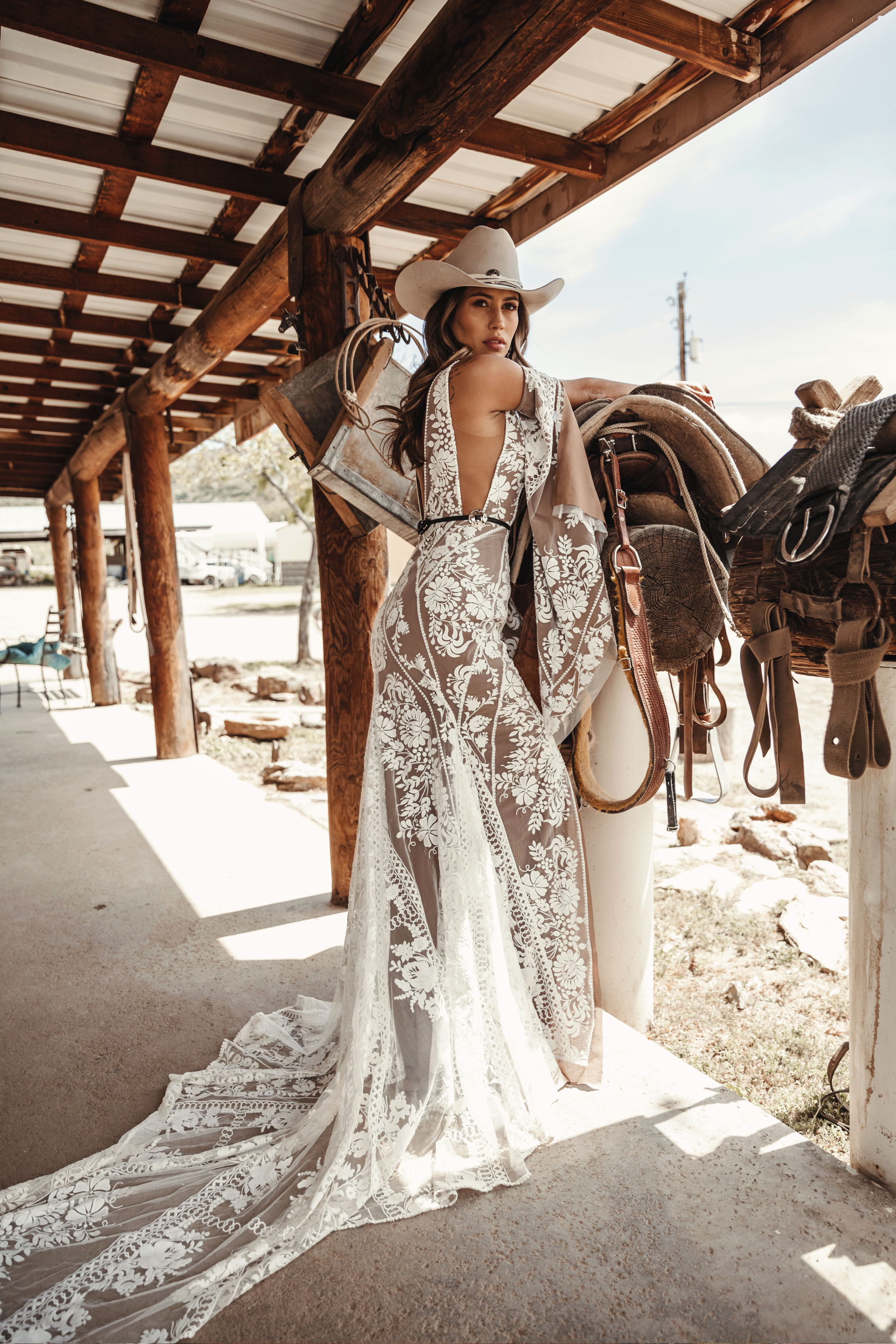 Jackson Gown by Rue De Seine Bridal Moonlight Canyon
