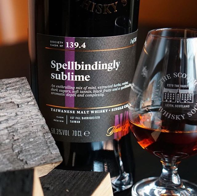 """The noses and palates from the staff at Whisky & Alement have called cask 139.4 Spellbindingly sublime, the highest scoring whisky, ever. Think about that. For a bar that sees just about every whisky under the sun pass by, this one scored the highest, EVER. A huge honour to the whole @smws_uk whisky team, to the late Dr Jim Swan, and to the Aussie members of the SMWS who get to buy this whisky first in best dressed this September Outturn coming. Amazing. Cheers! . . #Repost @whiskyandalement ・・・ The legacy left by the late Dr. Jim Swan on this distillery is now on show. The """"STR"""" cask or shave, toast, re-char is the cornerstone of many new world distilleries. No colour filters used in this shot, that's the natural colour of this first for the SMWS. A no age statement single cask dram! Congratulations to all who pushed this project through! We love it! #thesmws"""