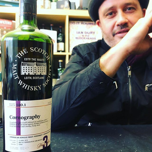 Spent the afternoon in a livestream with Matthew Wooler from @dramnation for the reveal of distillery 140.1 with cask 'Cornography'. A Texas single malt, single cask, at cask strength. More to come! Watch the stream on our Instagram or Facebook page now. . . #thesmws #dramnation #singlecask #texaswhiskey #singlecask #cornography #balcones