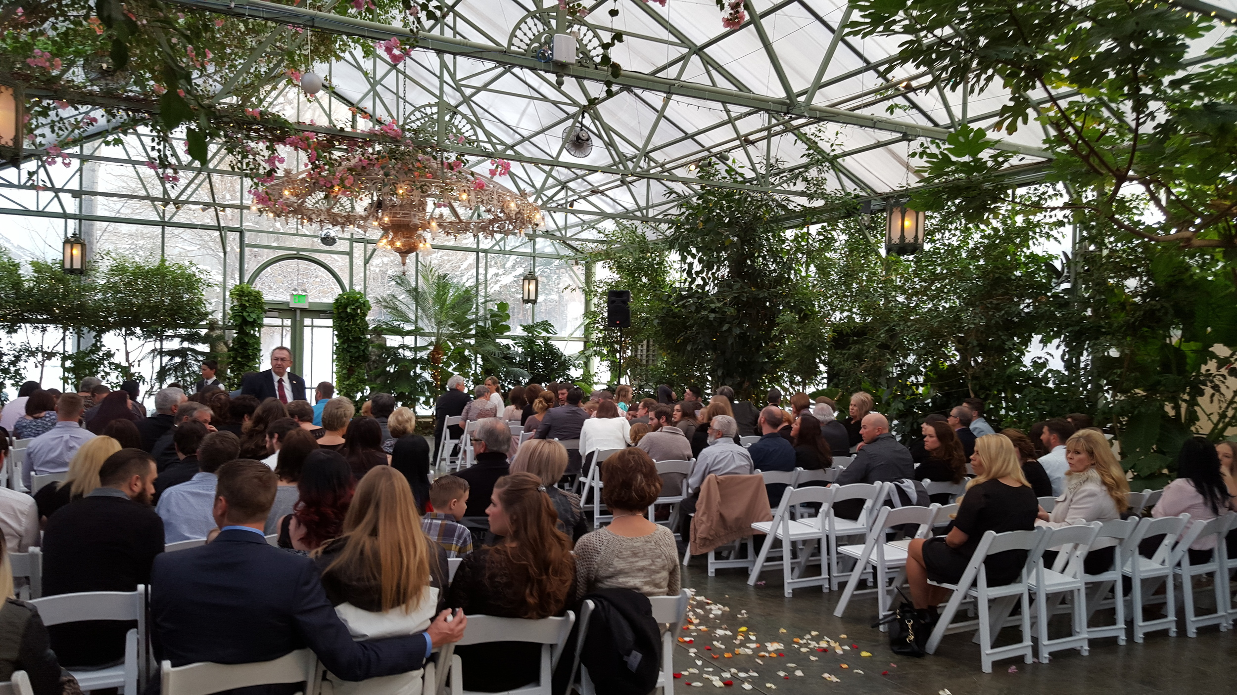 La Caille Pavilion Ceremony