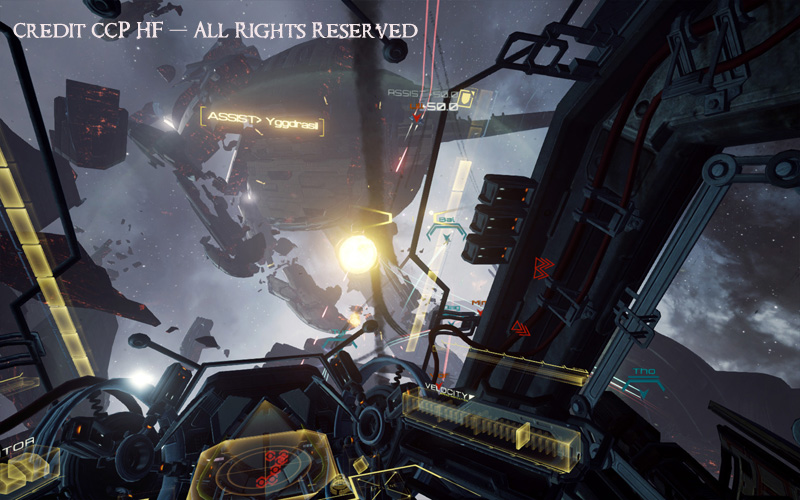 2016 - Eve: Valkyrie (Actual VR Footage)