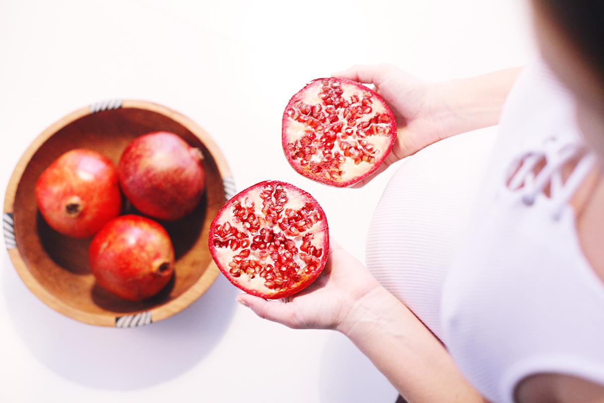 pomegranate health nutrition fresh