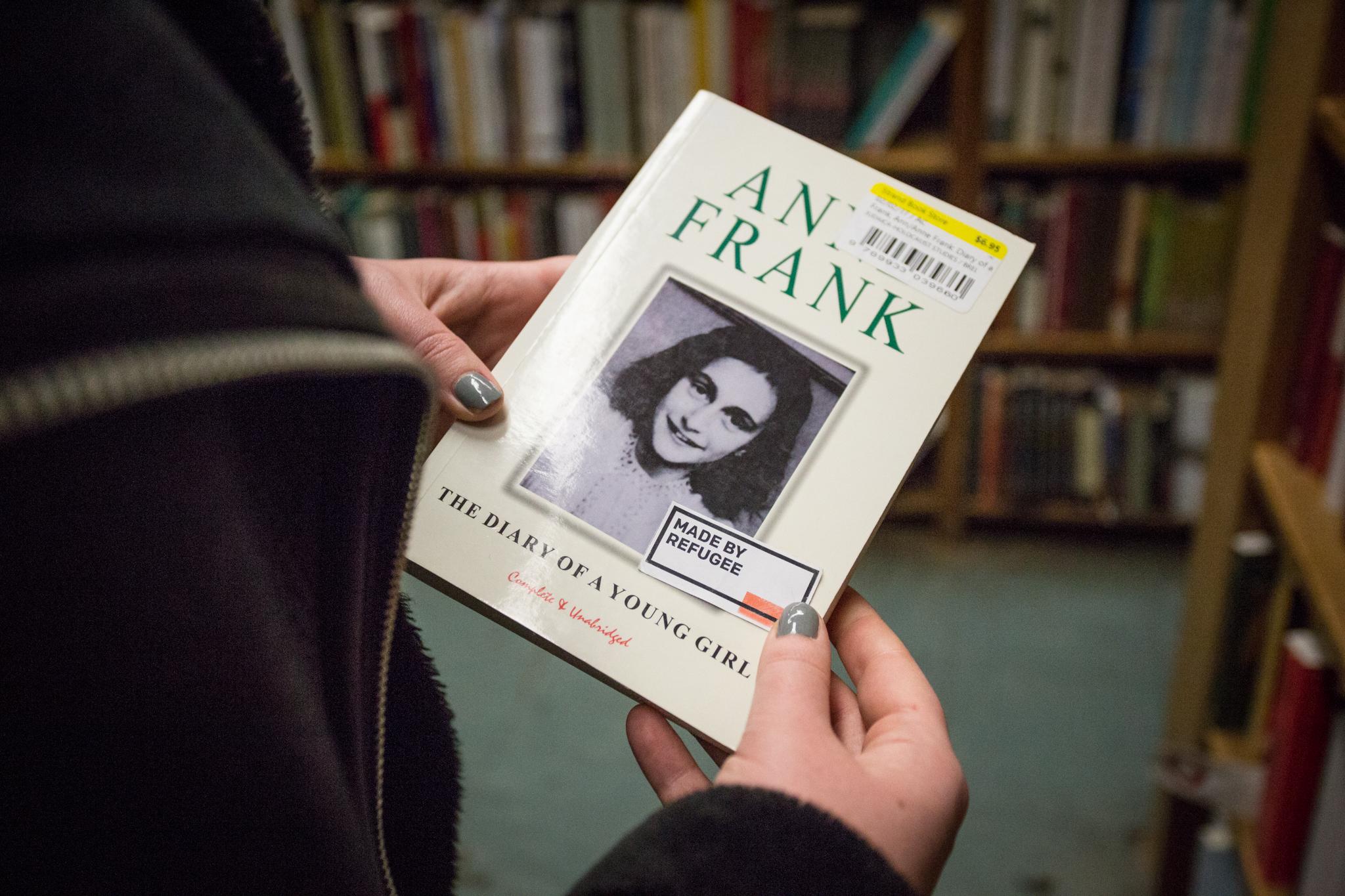 Anne Frank - Diarist - German refugee