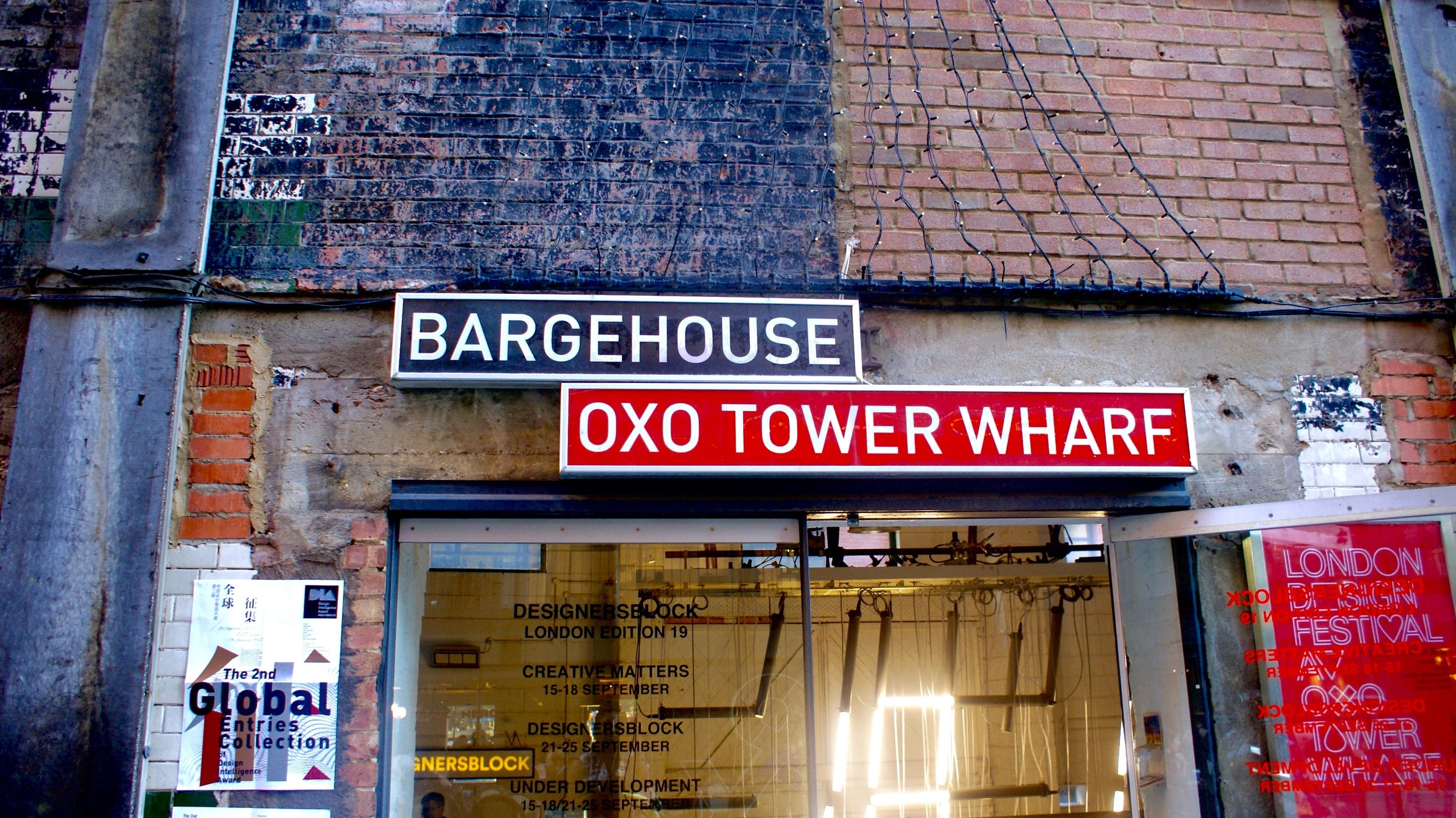 You should figure the atmosphere from the doorway alone. Welcome to the Bargehouse.