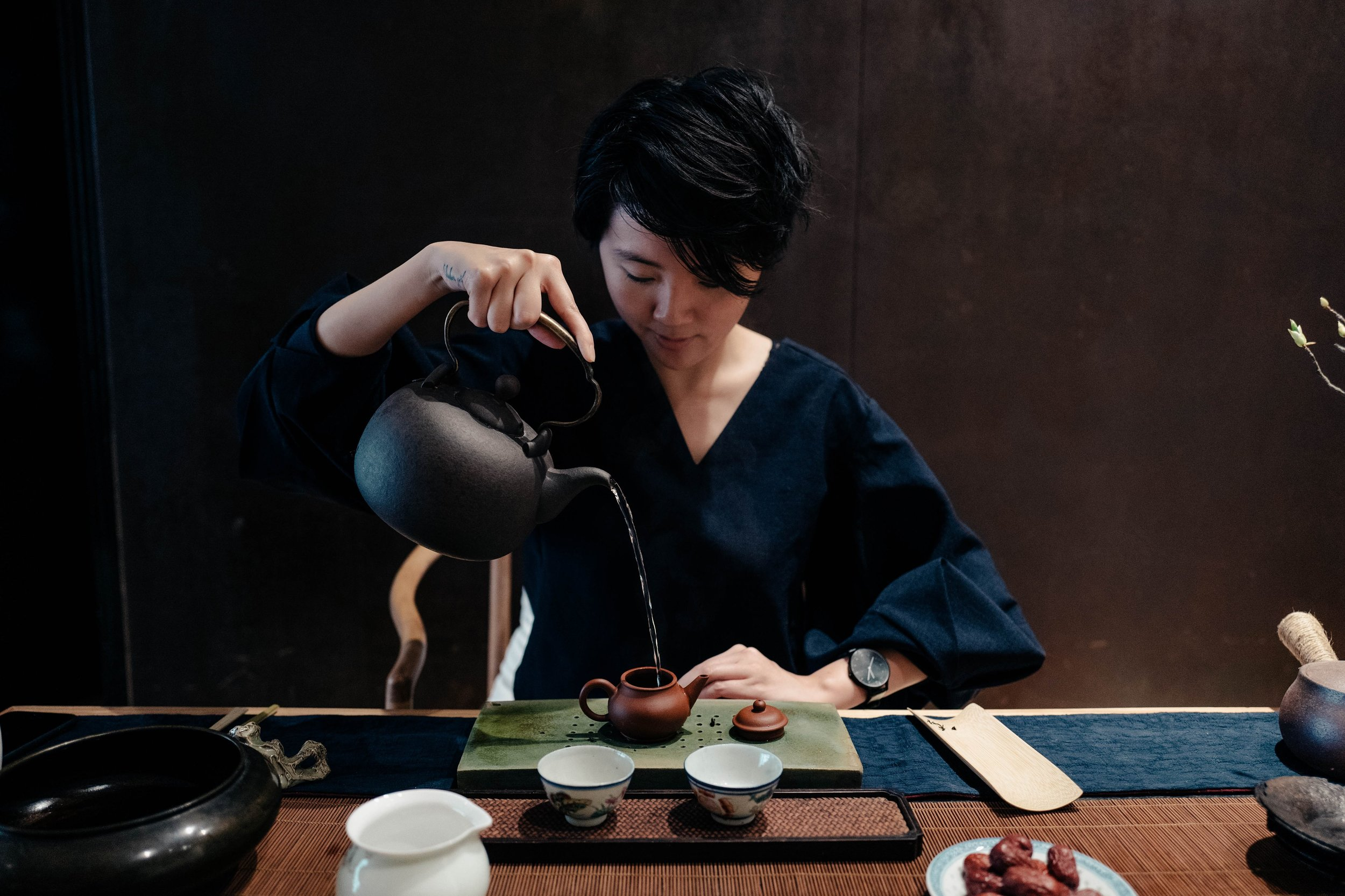 Learn about different types of Chinese tea and brewing methods at our favourite Chinese tea house